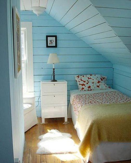 Mẫu nội thất phong ngủ hẹp đẹp - Thiết kế 5