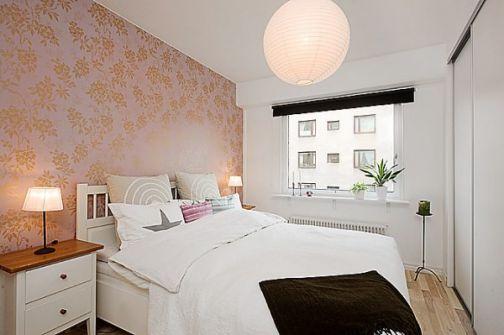 Mẫu nội thất phong ngủ hẹp đẹp - Thiết kế 8