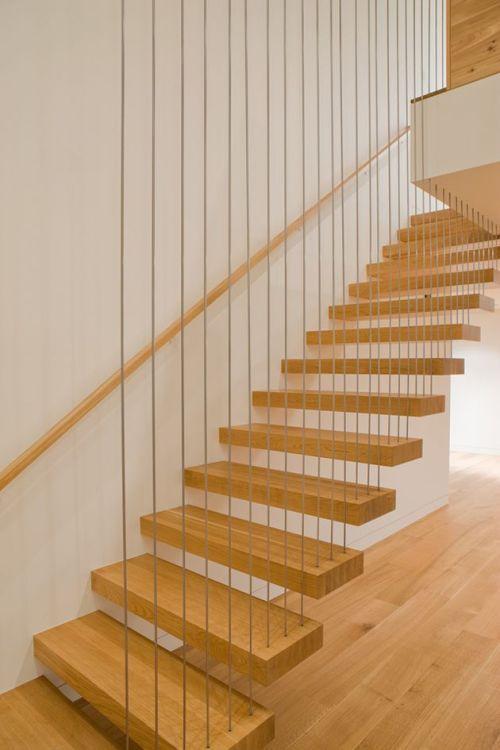cầu thang gỗ đẹp--Kiểu dáng 9