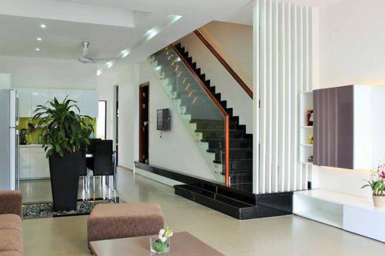 cầu thang nhà ống--Thiết kế 1