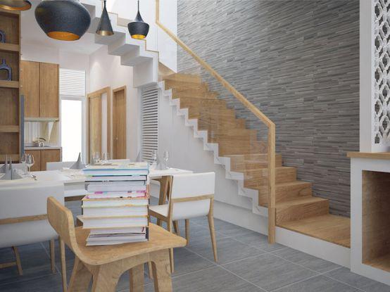 cầu thang nhà ống--Thiết kế 10