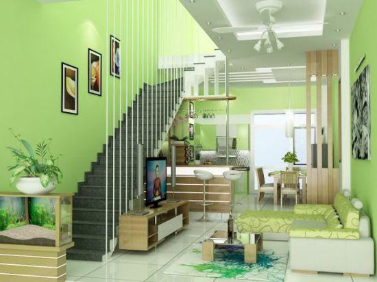 cầu thang nhà ống--Thiết kế 3