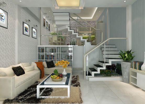 cầu thang nhà ống--Thiết kế 7