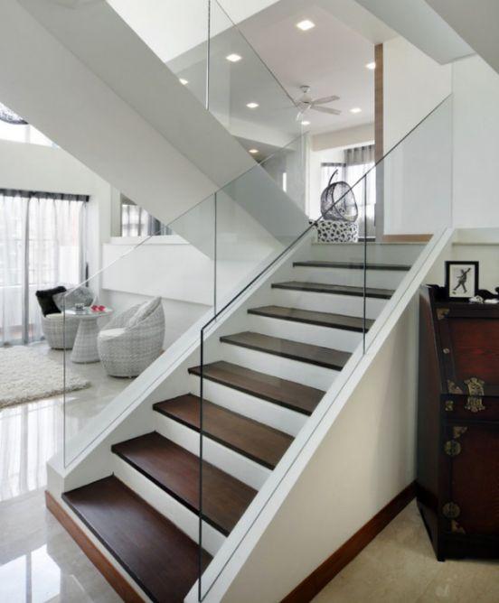mẫu cầu thang đẹp nhà ống--Thiết kế 8