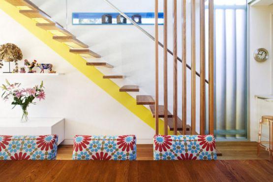 mẫu cầu thang đẹp nhà ống--Thiết kế 12