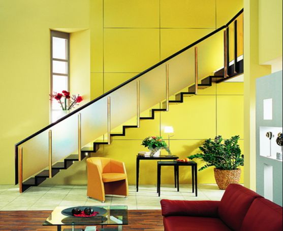 mẫu cầu thang đẹp nhà ống--Thiết kế 2