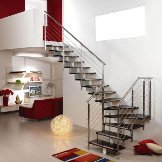 mẫu cầu thang đẹp nhà ống--Thiết kế 3