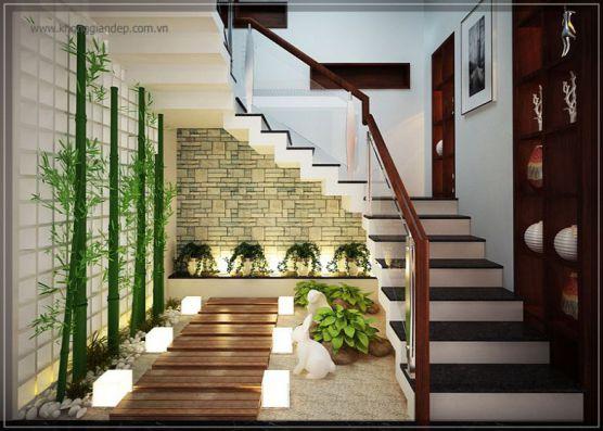 mẫu cầu thang đẹp nhà ống--Thiết kế 5
