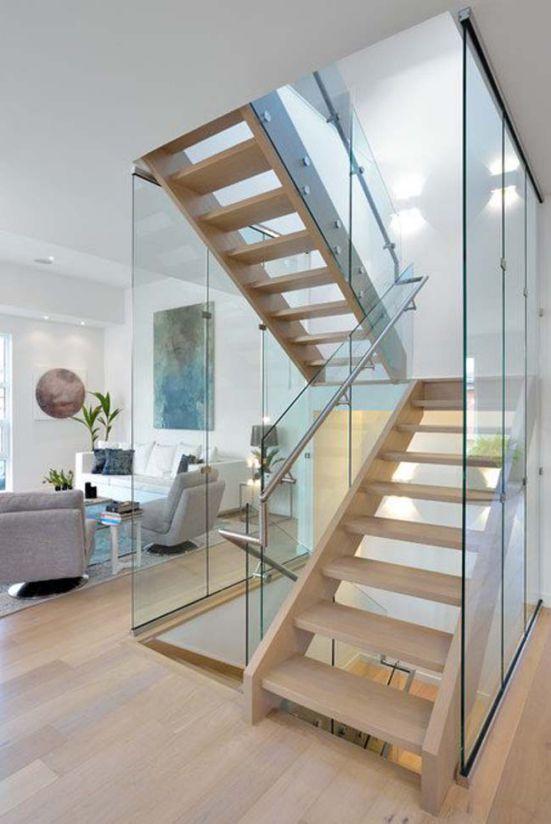 mẫu cầu thang đẹp nhà ống--Thiết kế 7