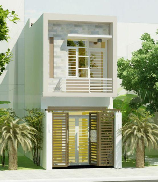 mẫu nhà đẹp 2 tầng diện tích 5x20--Kiến trúc 1