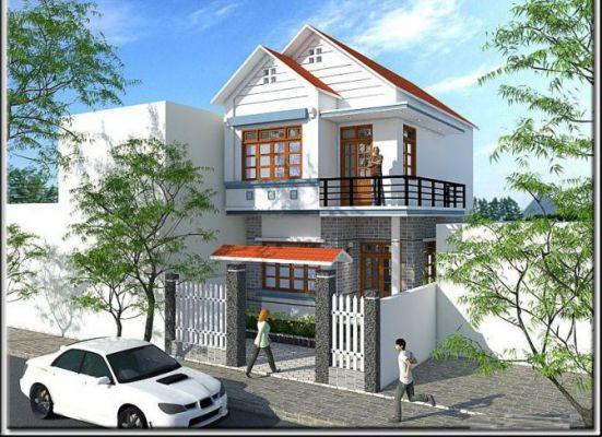 mẫu nhà đẹp 2 tầng diện tích 5x20--Kiến trúc 12