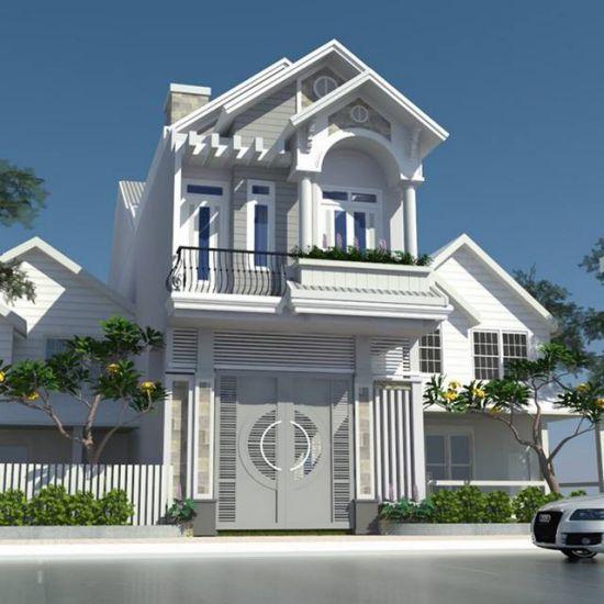 mẫu nhà đẹp 2 tầng diện tích 5x20--Kiến trúc 2
