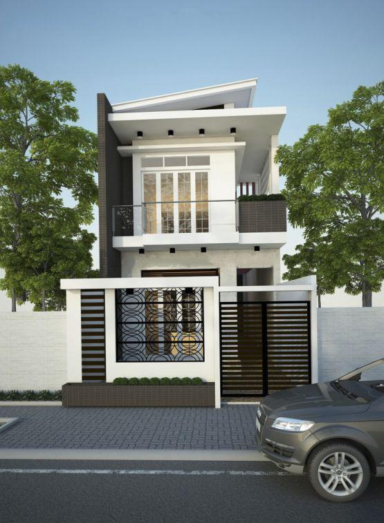 mẫu nhà đẹp 2 tầng diện tích 5x20--Kiến trúc 5