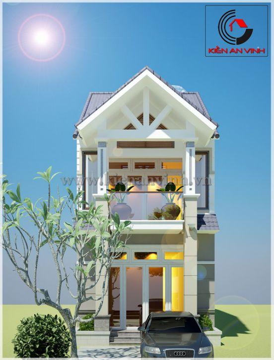 mẫu nhà đẹp 2 tầng diện tích 5x20--Kiến trúc 6