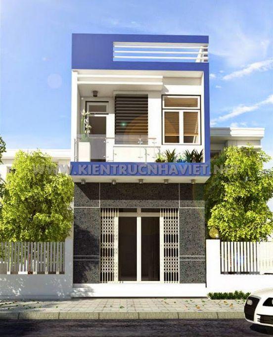 mẫu nhà đẹp 2 tầng diện tích 5x20--Kiến trúc 7