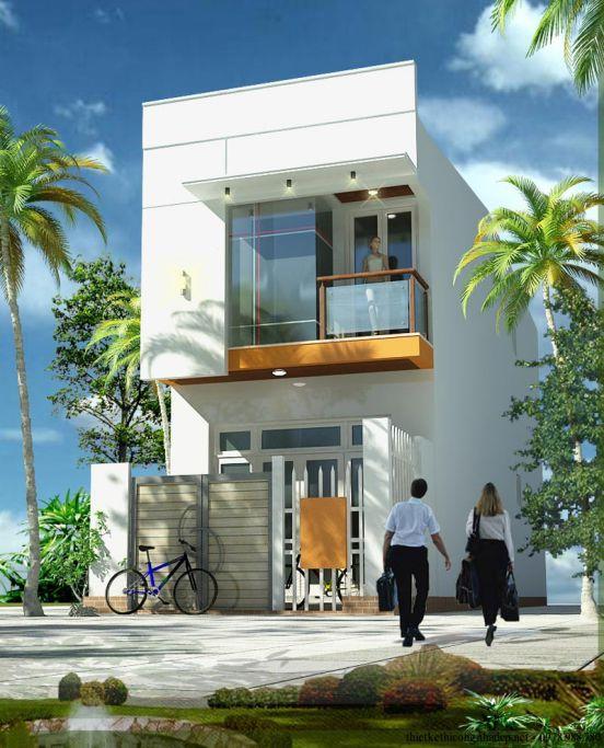 mẫu nhà đẹp 2 tầng diện tích 5x20--Kiến trúc 8