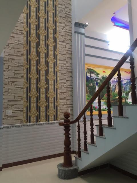 Cầu thang được đặt vị trí đẹp