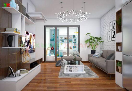 Thiết kế mẫu phòng khách đẹp kiểu dáng hiện đại ảnh 12
