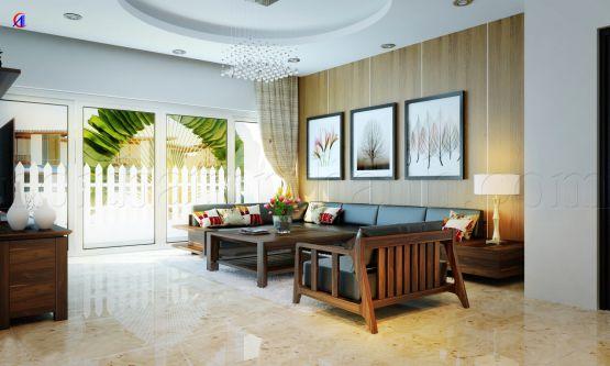 Thiết kế mẫu phòng khách đẹp kiểu dáng hiện đại ảnh 13