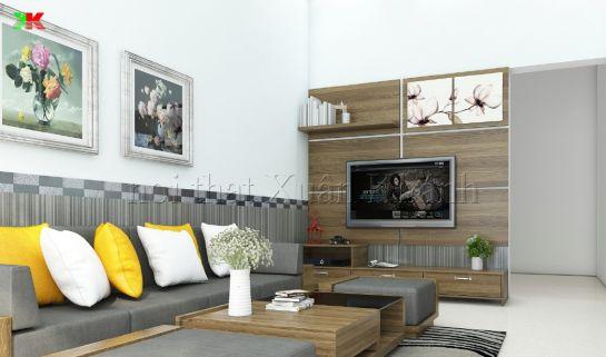 Thiết kế mẫu phòng khách đẹp kiểu dáng hiện đại ảnh 15