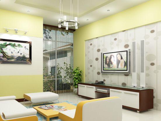 Thiết kế mẫu phòng khách đẹp kiểu dáng hiện đại ảnh 2