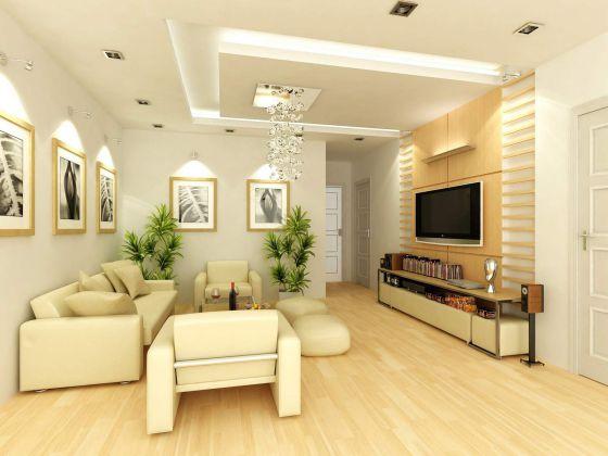 Thiết kế mẫu phòng khách đẹp kiểu dáng hiện đại ảnh 5