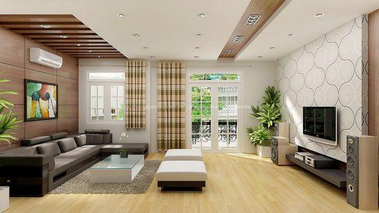 Thiết kế mẫu phòng khách đẹp kiểu dáng hiện đại ảnh 8