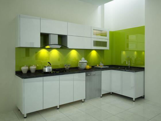 mẫu tủ bếp đẹp hình chữ l--Mẫu 5