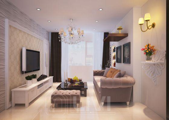 phòng khách đơn giản mà đẹp--Kiểu dáng 3