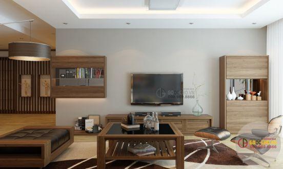 phòng khách đơn giản mà đẹp--Kiểu dáng 4