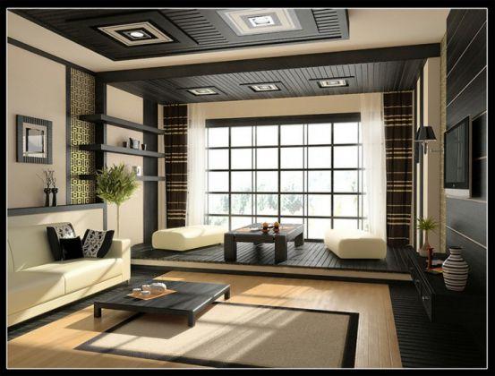 phòng khách đơn giản mà đẹp--Kiểu dáng 8
