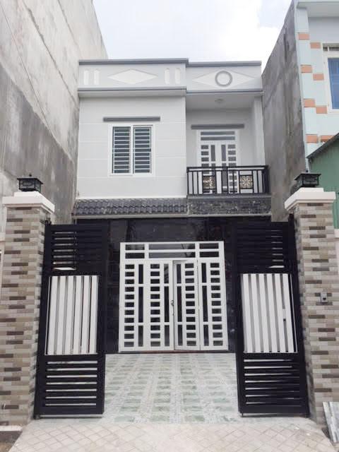 Bán nhà 1 lầu 1 trệt kiểu dáng hiện đại