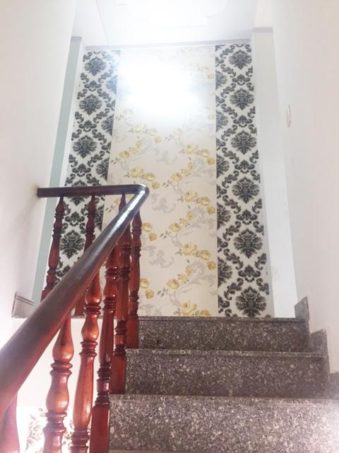 tay vịn cầu thang bằng gỗ