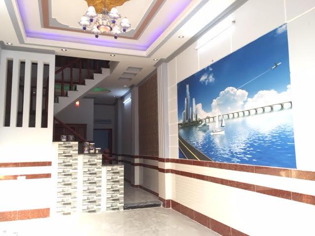 Tường nhà bố trí tranh phong thủy