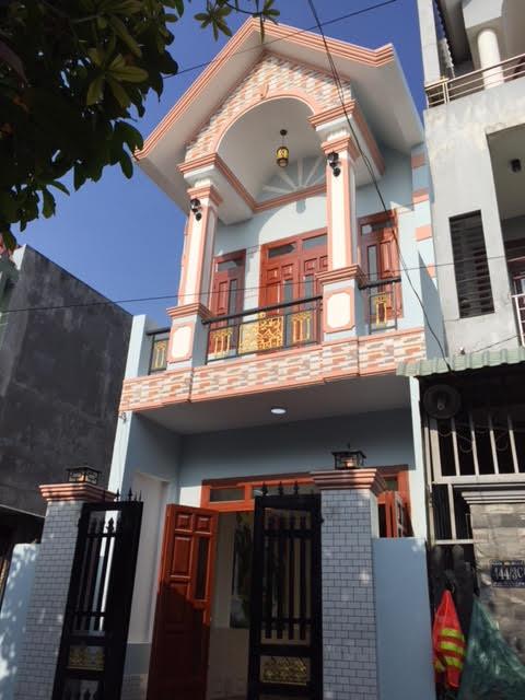 Mặt tiền nhà bán ở dĩ an bd
