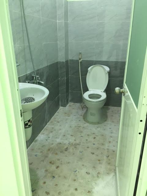 Toilet sinh hoạt bố trí rộng rãi